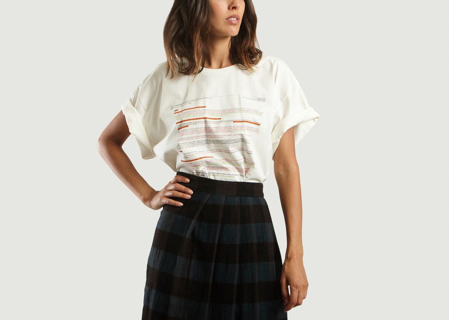 T-Shirt E-Mail - MM6