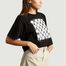 T-Shirt Cropped Damier - MM6
