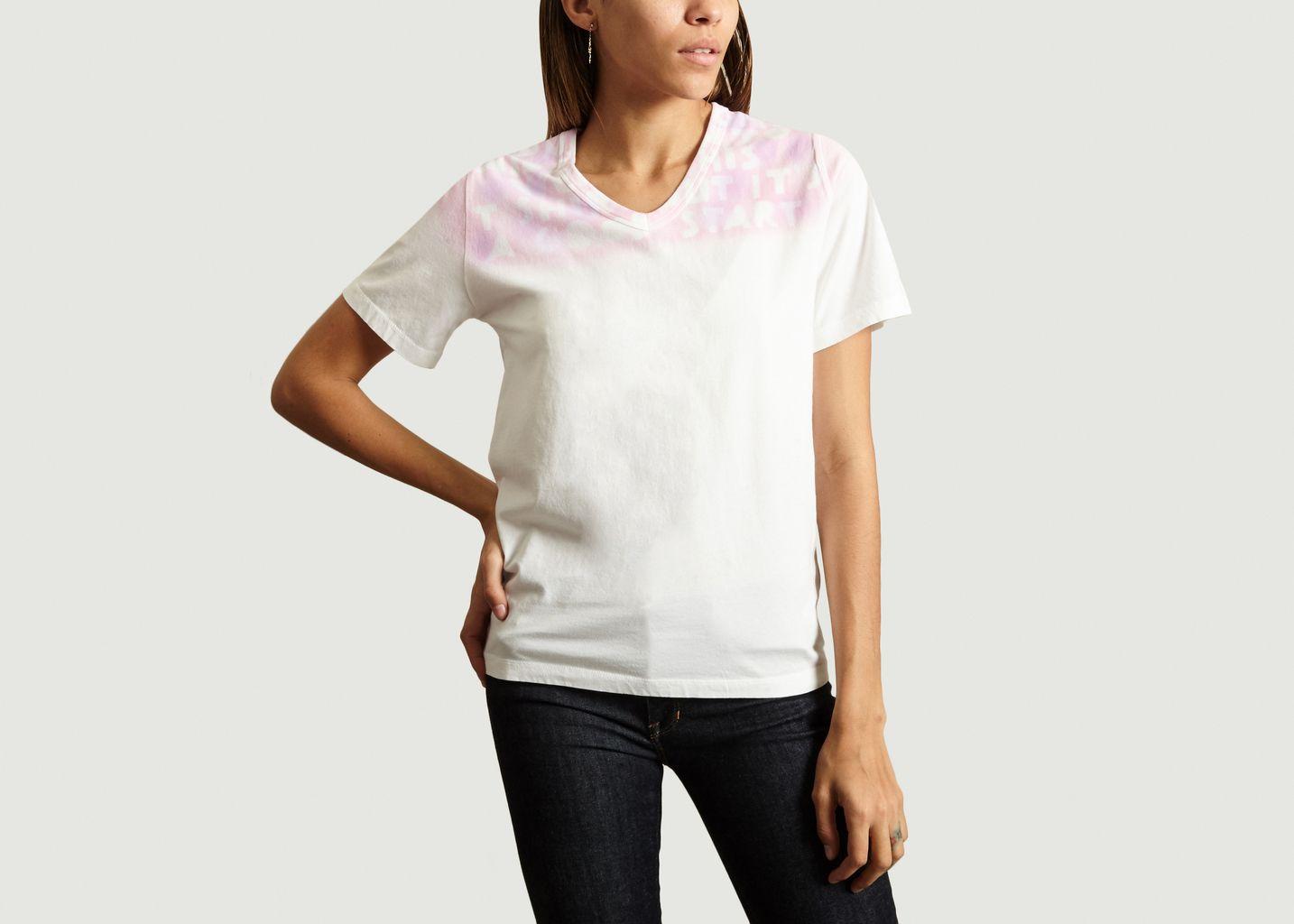 T-Shirt Tye & Dye - MM6