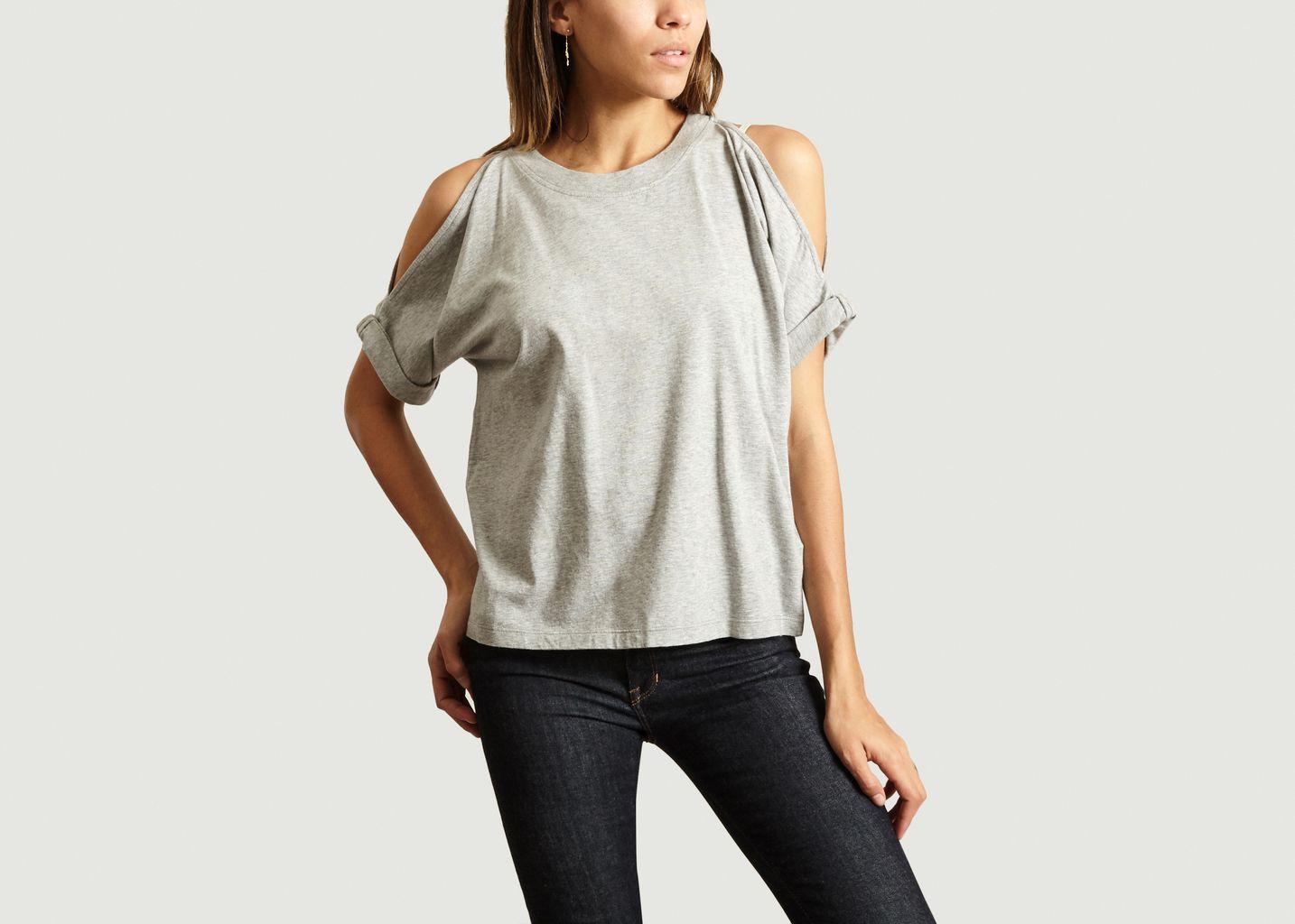 T-Shirt Épaules Nues - MM6