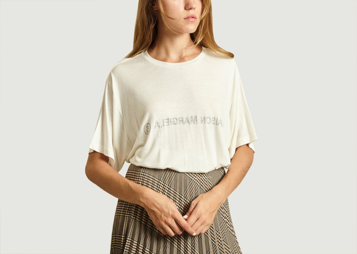 T-Shirt Logo Imprimé - MM6