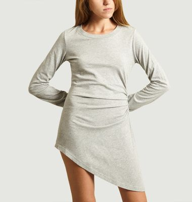 Robe en jersey Asymétrique