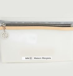 Logo Zip Clutch