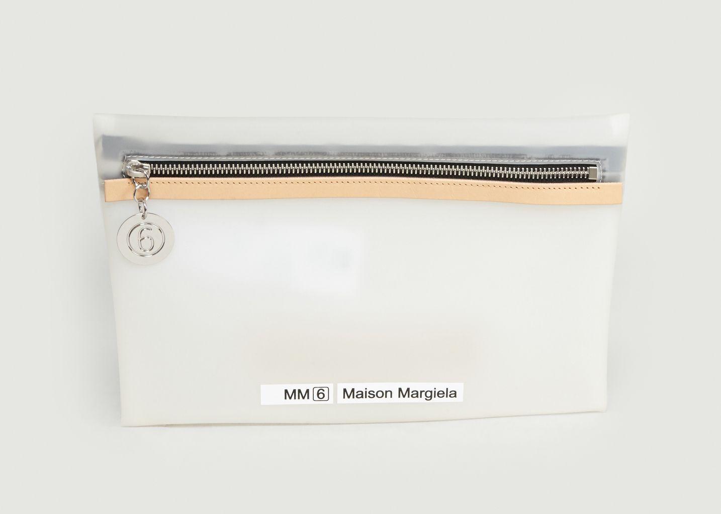 Pochette Zippée Logotypée - MM6