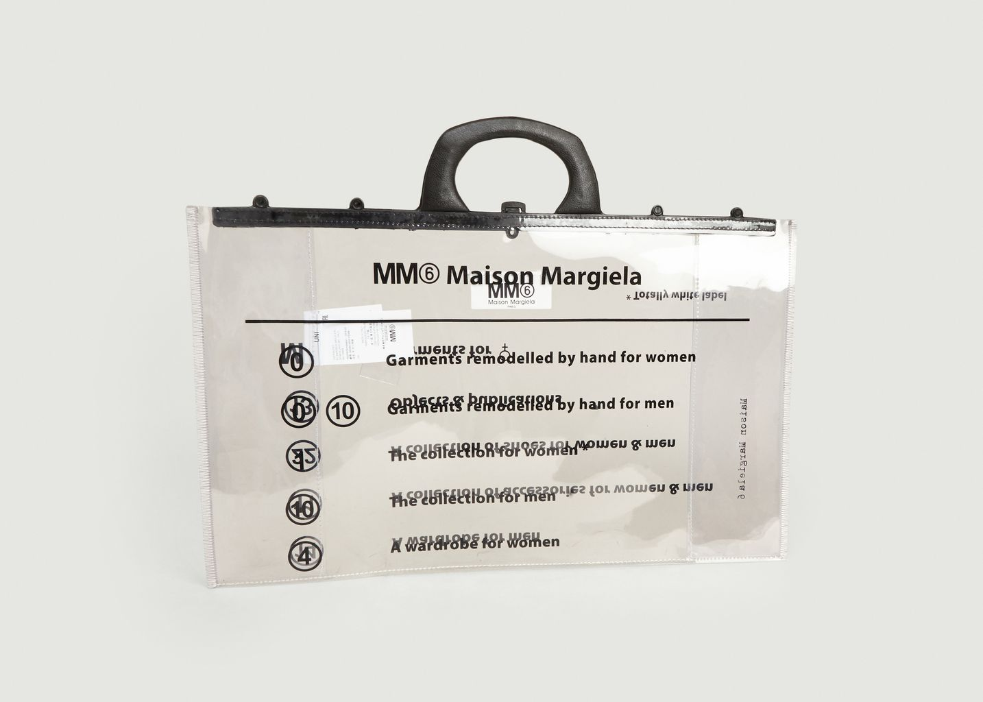 Cabas en PVC Logo - MM6