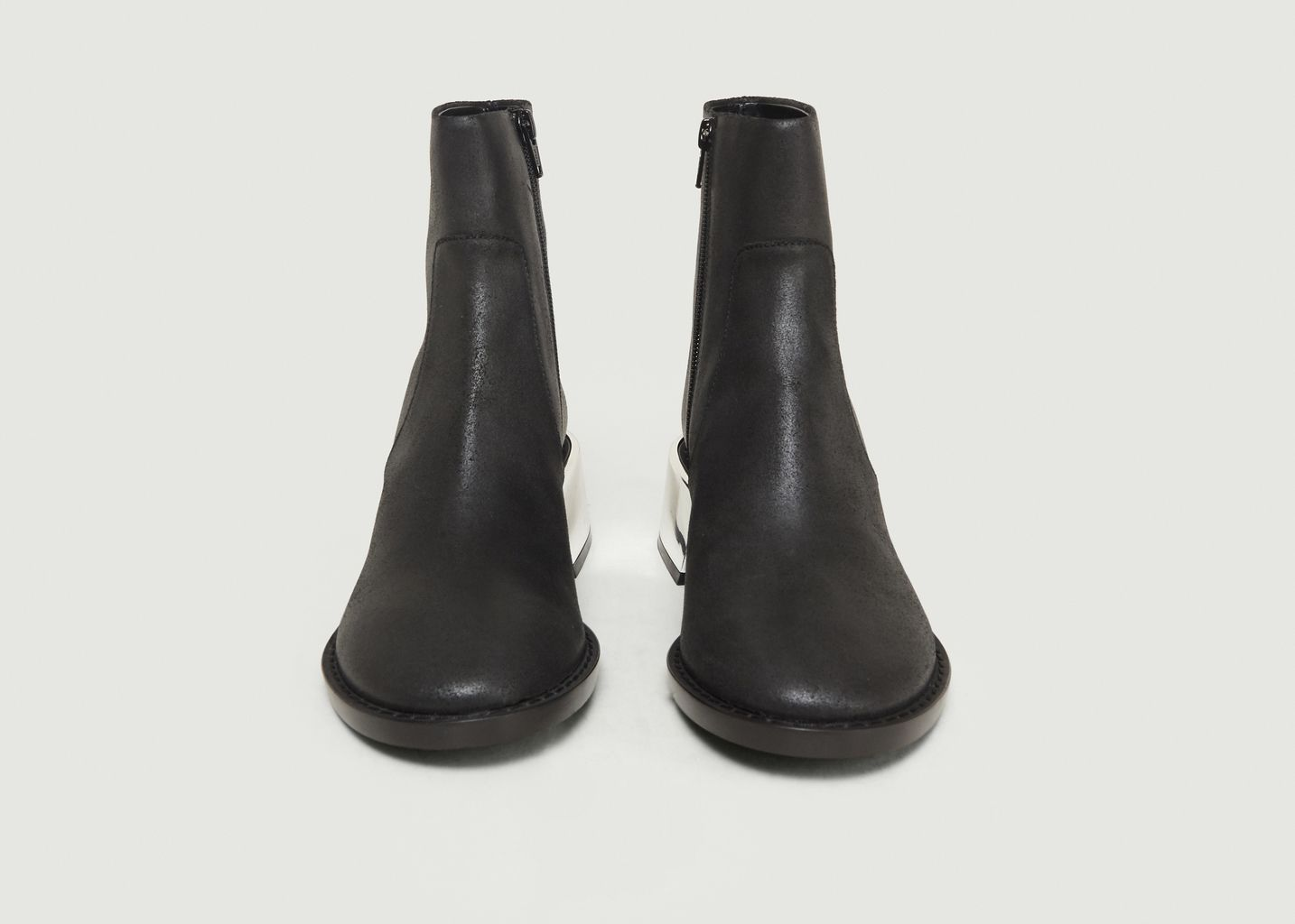 Bottines en Cuir - MM6