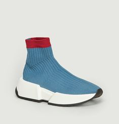 Sneakers Chaussettes Plateformes