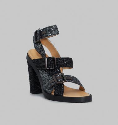 Sandale Paillettes