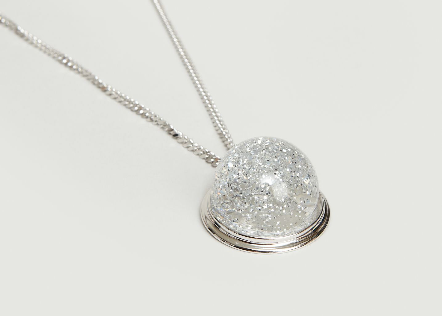 Snow Globe Necklace - MM6