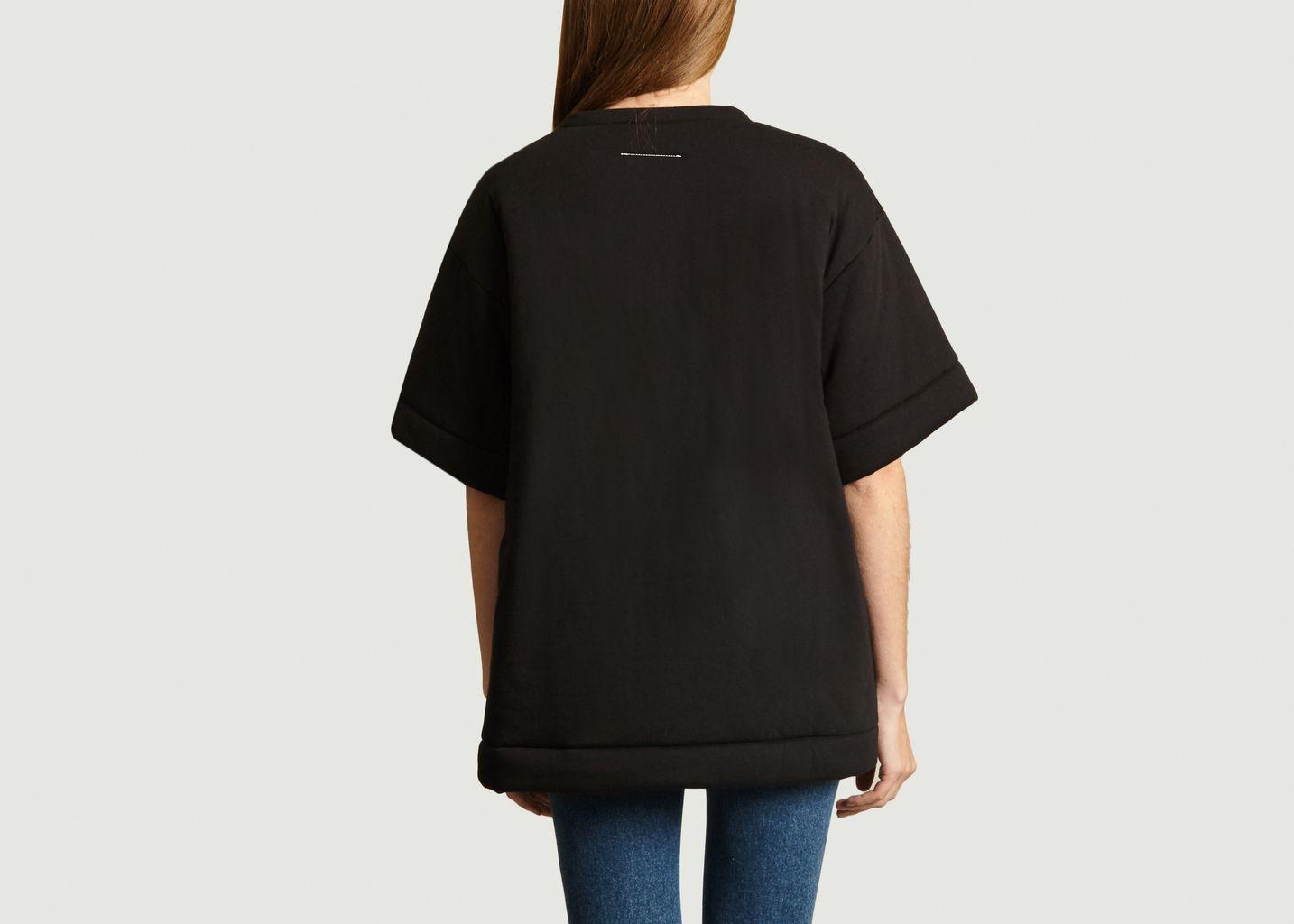 T-Shirt Logo Molletonné  - MM6