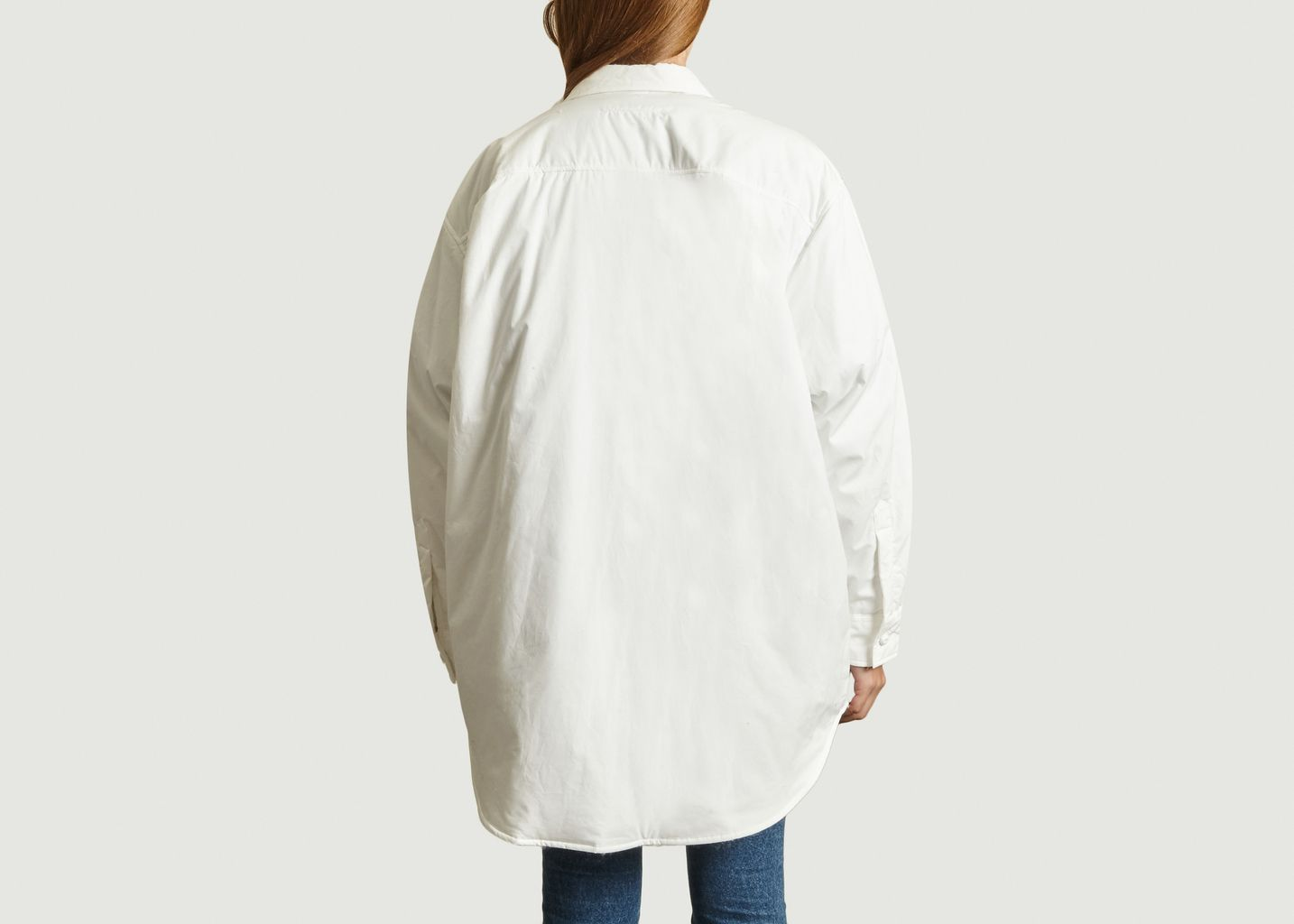 Veste Molletonnée Boutonnée Unie - MM6
