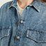 matière Veste chemise en jean oversize - MM6