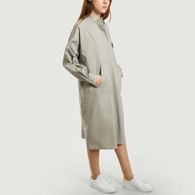 Robe chemise en popeline mi-longue - MM6 Maison Margiela