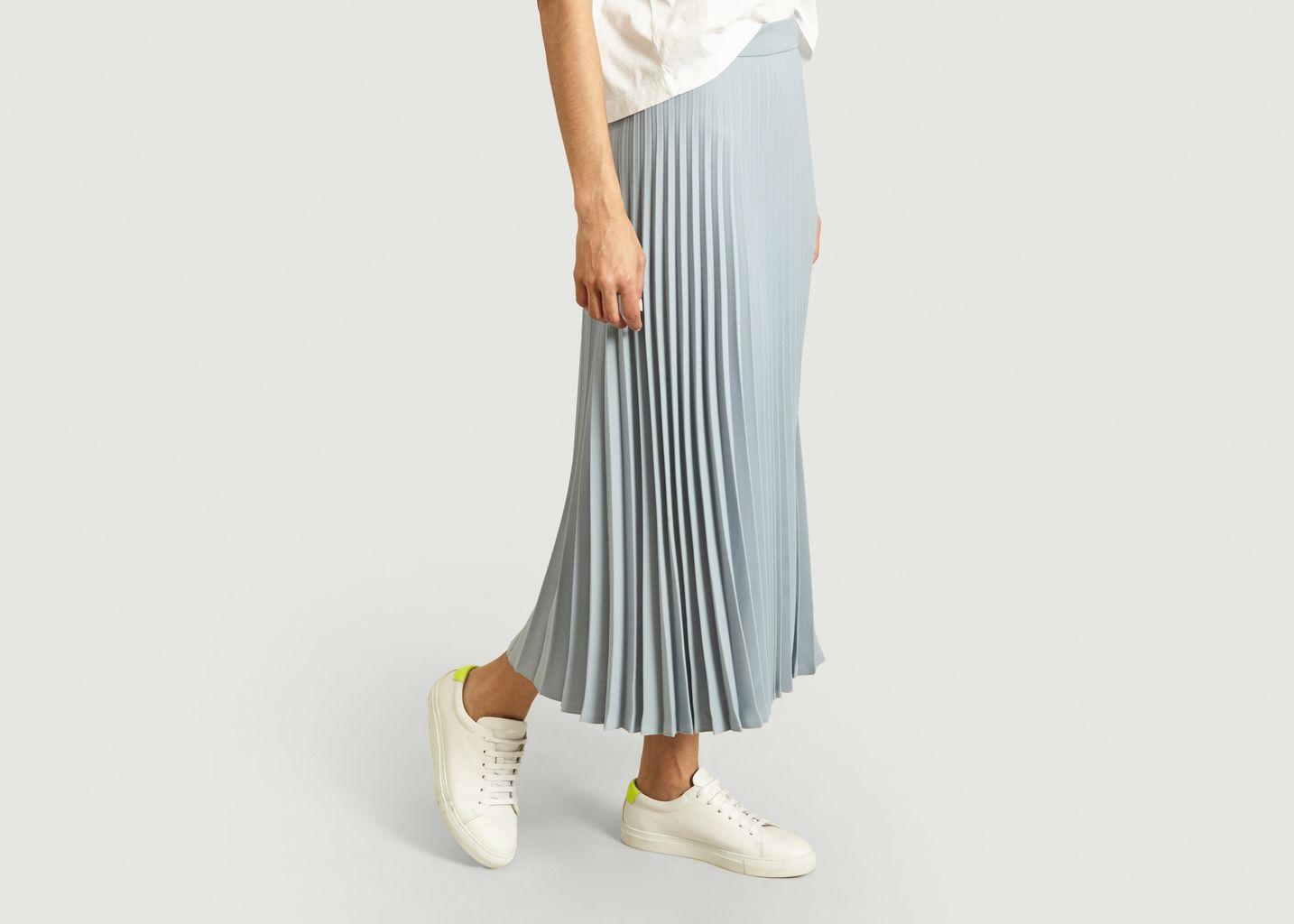 Jupe mi-longue plissée - MM6