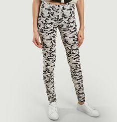 Camouflage-Print Leggings