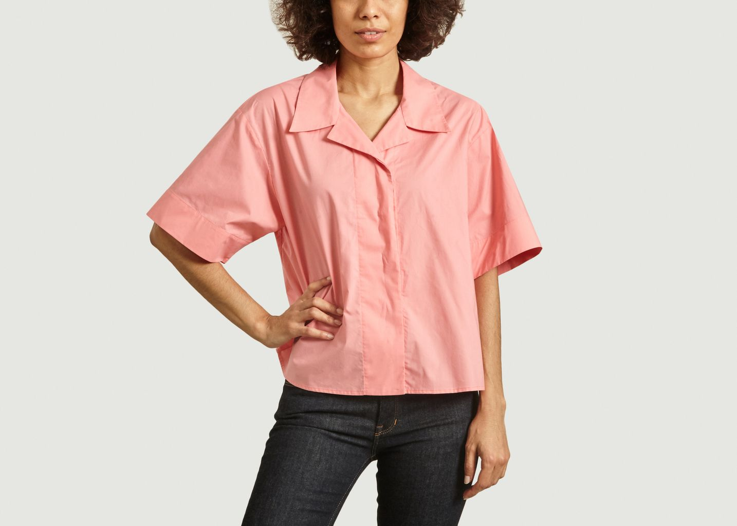 Chemise oversize col tailleur - MM6