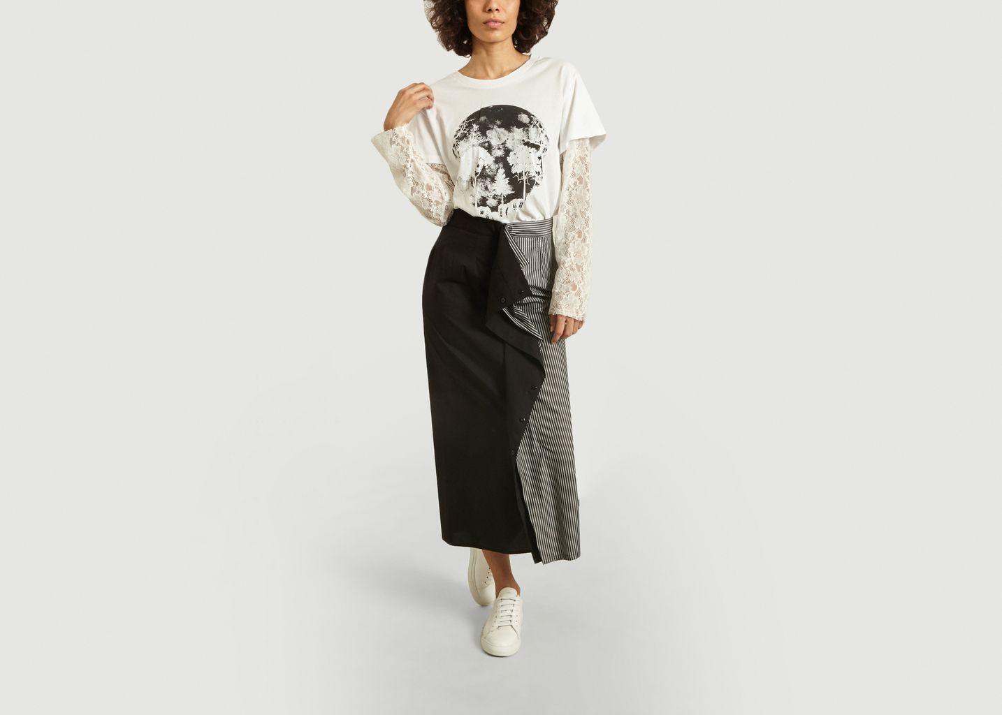 T-shirt Camera Obscura imprimé  - MM6