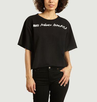 T-Shirt ample imprimé logo