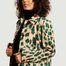 matière Manteau long motif léopard - MM6 Maison Margiela
