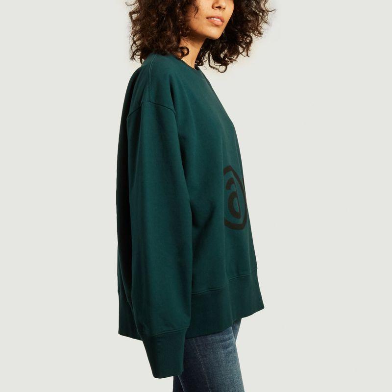 Oversized logo sweatshirt - MM6 Maison Margiela