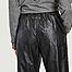 matière Pantalon loose 7/8e en simili cuir - MM6 Maison Margiela