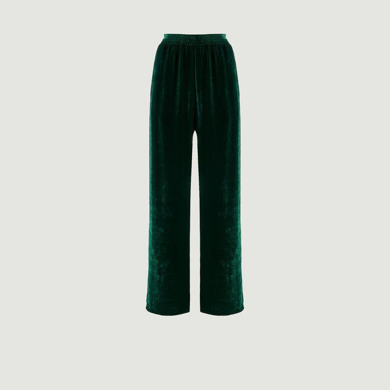 Pantalon ample taille haute en velours - MM6