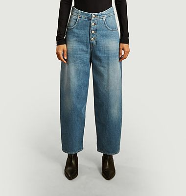 Flared 7/8th jeans