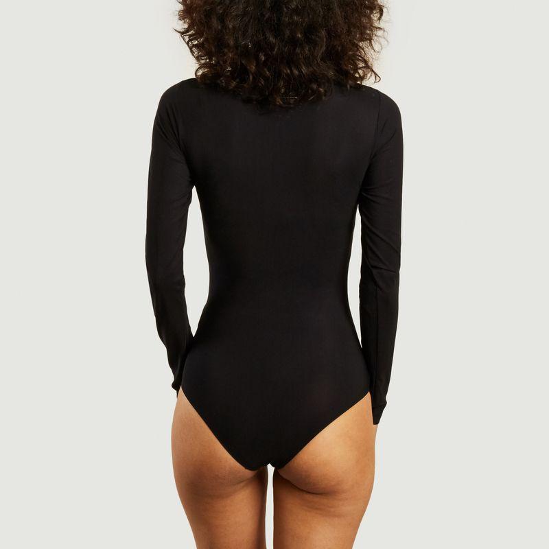 Body manches longues en jersey siglé - MM6 Maison Margiela
