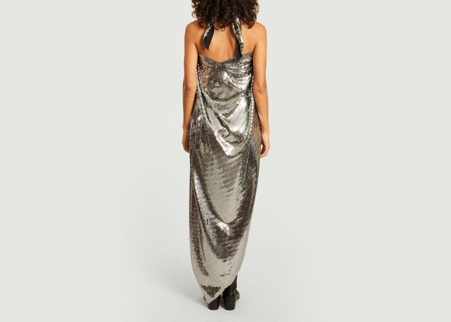 Robe longue sans manche à sequins - MM6 Maison Margiela