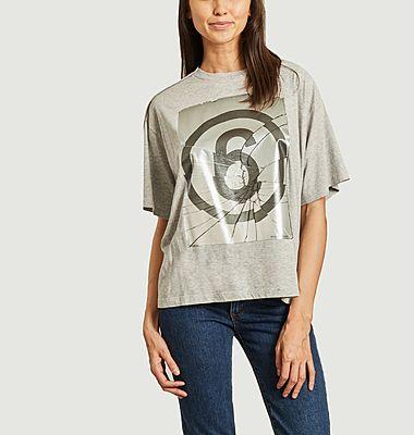 Tee-shirt col rond sérigraphié