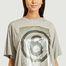 matière Tee-shirt col rond sérigraphié  - MM6 Maison Margiela
