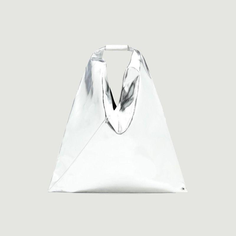Sac en simili cuir lamé Japanese Medium - MM6 Maison Margiela