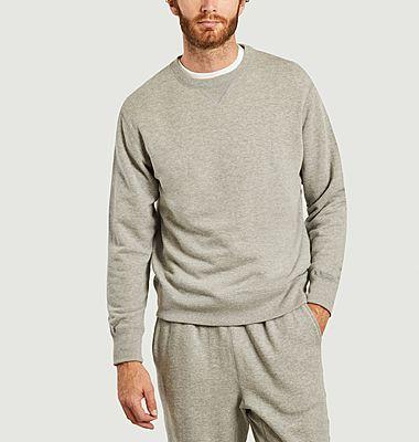 Sweatshirt Loopwheel fabriqué au Japon