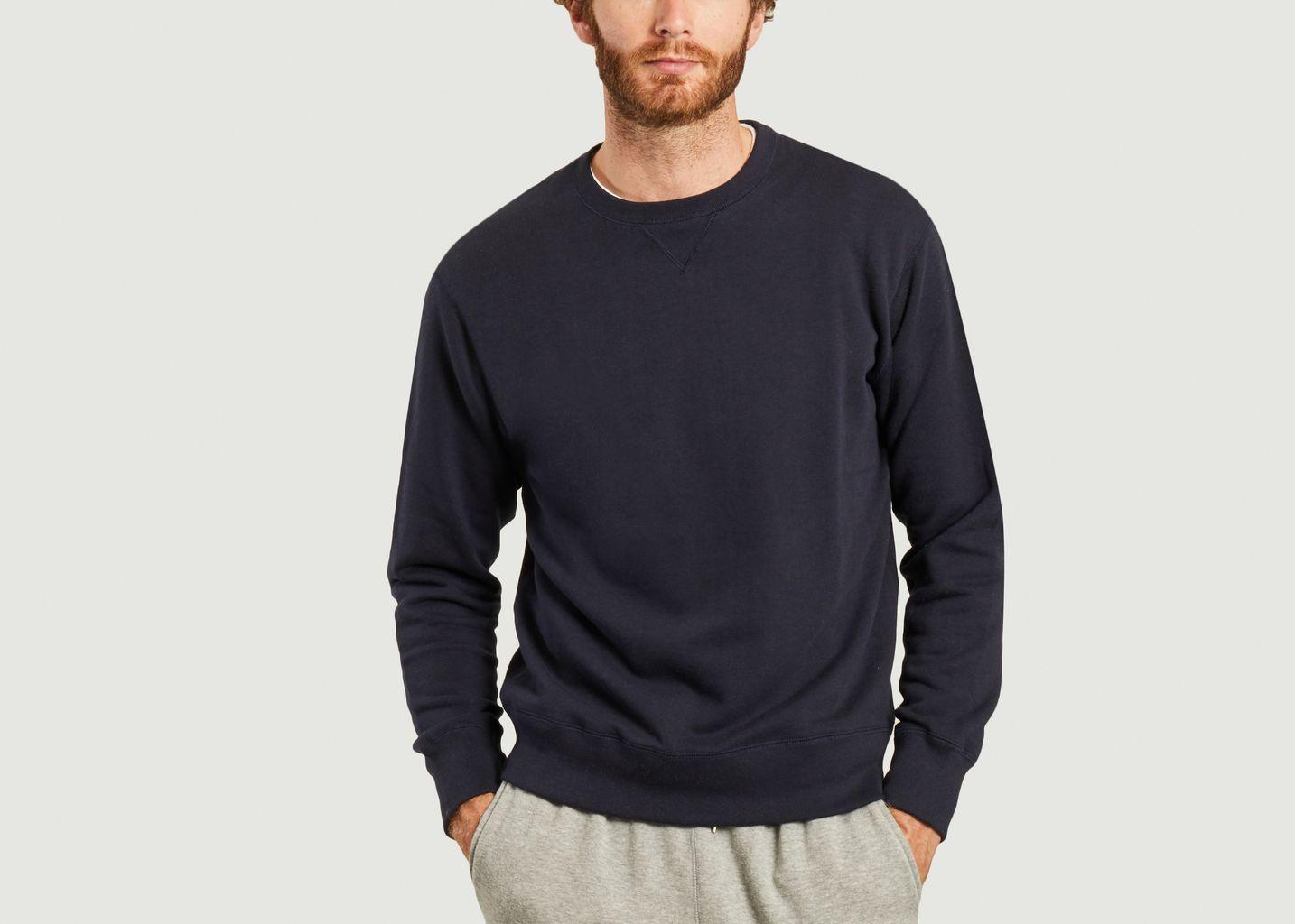 Sweatshirt Loopwheel fabriqué au Japon - MocT