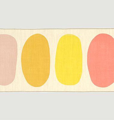 Echarpe en laine motif géométrique Nº540