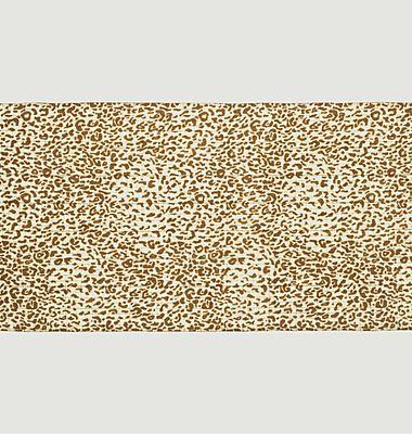 Echarpe en laine motif léopard Nº543