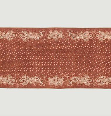 Echarpe en laine imprimé fantaisie Nº536