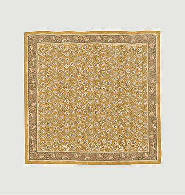 Foulard carré en coton Nº523