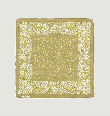 Foulard carré en coton Nº519