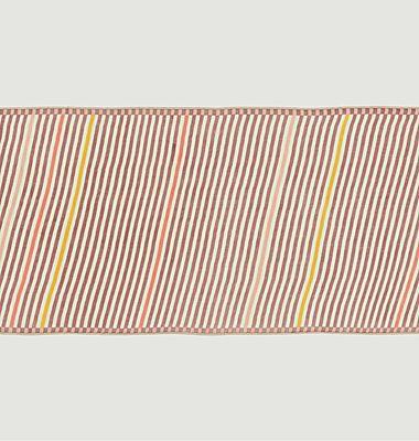 Echarpe rayée en laine Nº538