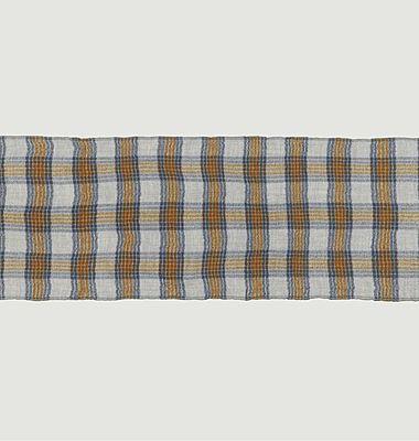 Echarpe en laine à carreaux Nº553