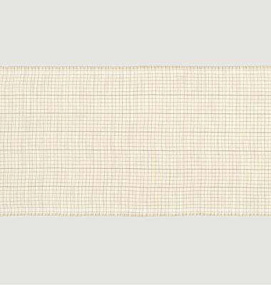 Echarpe en laine à carreaux Nº557
