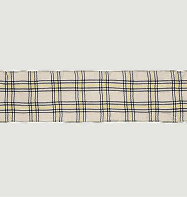 Echarpe en laine et cachemire à carreaux Nº547