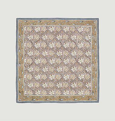 Foulard carré en coton N°522