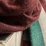 matière Foulard n°379 100x200 en laine - Moismont