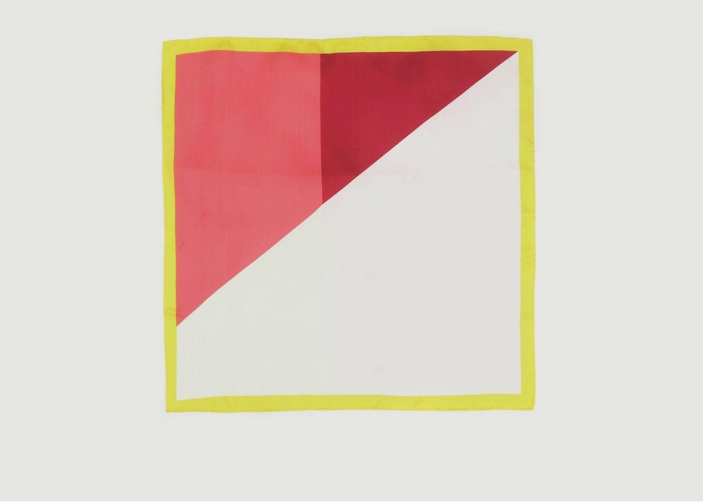 Foulard carré en soie n°397 - Moismont