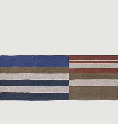 Echarpe rayée en laine N°451