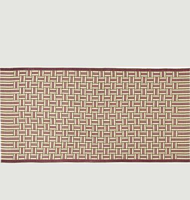 Echarpe en laine motif géométrique N°460