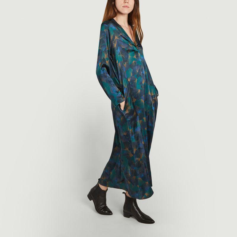 Robe Biarritz en soie  - Momoni