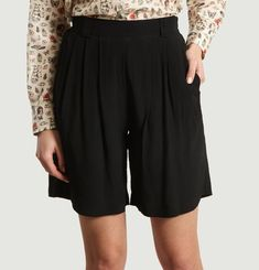 Sile Silk Shorts